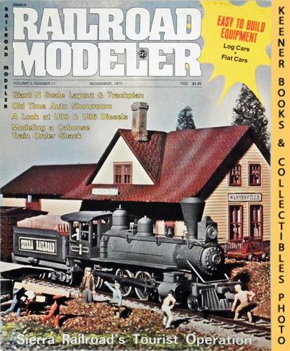 Image for Railroad Modeler Magazine, November 1975 (Vol. 5, No. 11)