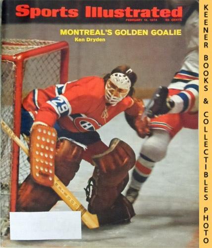 Image for Sports Illustrated Magazine, February 14, 1972 (Vol 36, No. 7) : Montreal's Golden Goalie - Ken Dryden