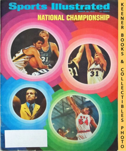 Image for Sports Illustrated Magazine, March 20, 1972 (Vol 36, No. 12) : National Championship