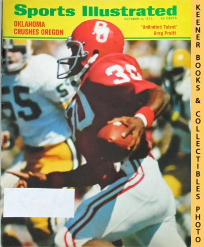 Image for Sports Illustrated Magazine, October 2, 1972 (Vol 37, No. 14) : Oklahoma Crushes Oregon - Unlimited Talent, Greg Pruitt