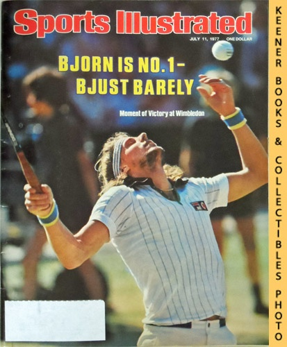 Image for Sports Illustrated Magazine, July 11, 1977 (Vol 47, No. 2) : Bjorn Is No. 1 - Bjust Barely - Moment of Victory at Wimbledon