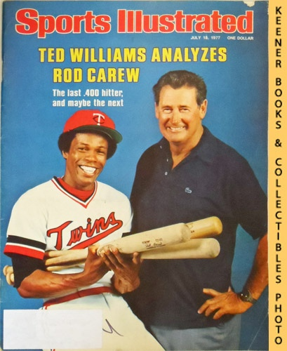 Image for Sports Illustrated Magazine, July 18, 1977 (Vol 47, No. 3) : Ted Williams Analyzes Rod Carew - The Last .400 Hitter, And Maybe The Next