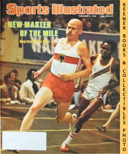 Image for Sports Illustrated Magazine, February 6, 1978 (Vol 48, No. 6) : New Master of the Mile - Buerkle Beats Bayi