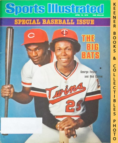 Image for Sports Illustrated Magazine, April 10, 1978 (Vol 48, No. 16) : Special Baseball Issue - The Big Bats, George Foster and Rod Carew