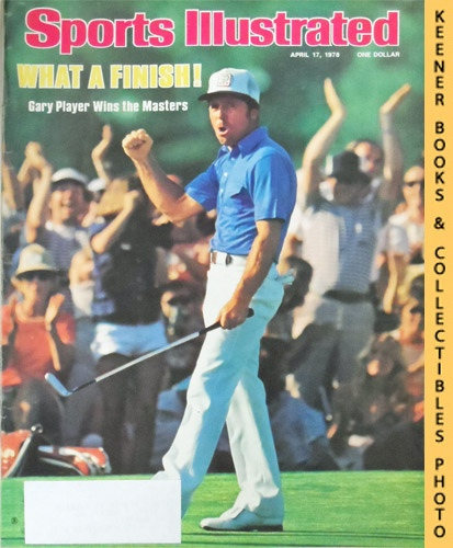 Image for Sports Illustrated Magazine, April 17, 1978 (Vol 48, No. 17) : What A Finish! - Gary Player Wins the Masters