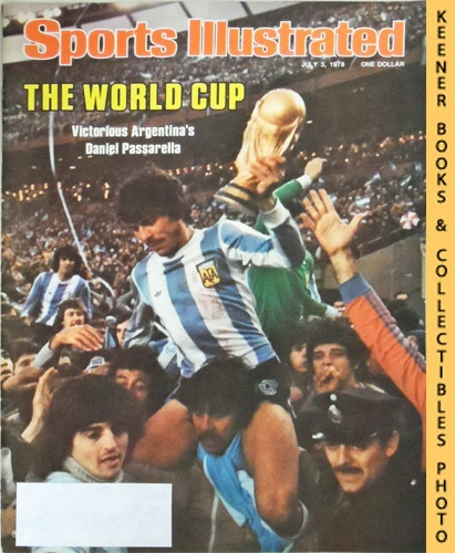 Image for Sports Illustrated Magazine, July 3, 1978 (Vol 49, No. 1) : The World Cup - Victorious Argentina's Daniel Passarella