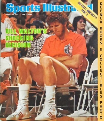 Image for Sports Illustrated Magazine, August 21, 1978 (Vol 49, No. 8) : Bill Walton's Shocking Decision