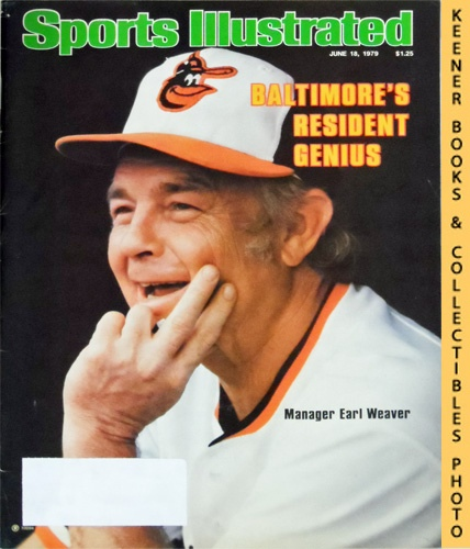 Image for Sports Illustrated Magazine, June 18, 1979 (Vol 50, No. 25) : Baltimore's Resident Genuis, Manager Earl Weaver
