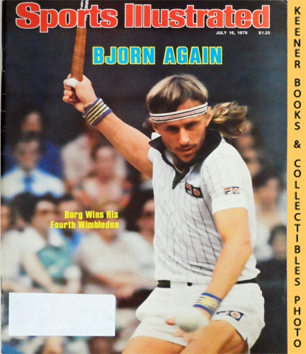 Image for Sports Illustrated Magazine, July 16, 1979 (Vol 51, No. 3) : Bjorn Again, Borg Wins His Fourth Wimbledon
