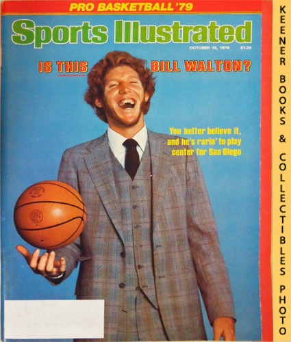 Image for Sports Illustrated Magazine, October 15, 1979 (Vol 51, No. 16) : Is This Bill Walton? You Better Belive It, and He's Rarin' To Play Center for San Diego
