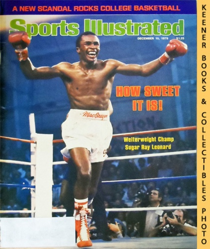 Image for Sports Illustrated Magazine, December 10, 1979 (Vol 51, No. 24) : How Sweet It is! Welterweight Champ Sugar Ray Leonard