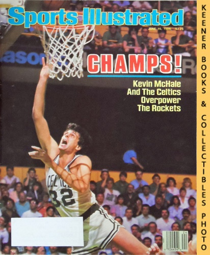 Image for Sports Illustrated Magazine, June 16, 1986 (Vol 64, No. 24) : Champs! Kevin McHale And The Celtics Overpower The Rockets