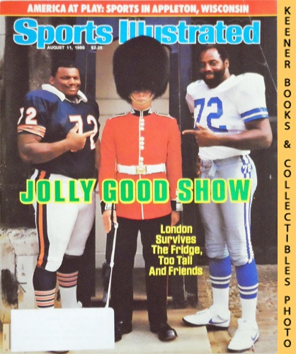 Image for Sports Illustrated Magazine, August 11, 1986 (Vol 65, No. 6) : Jolly Good Show - London Survives The Fridge, Too Tall And Friends