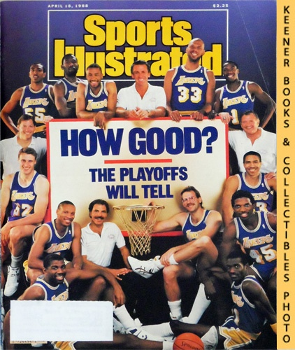 Image for Sports Illustrated Magazine, April 18, 1988 (Vol 68, No. 16) : How Good? The Playoffs Will Tell