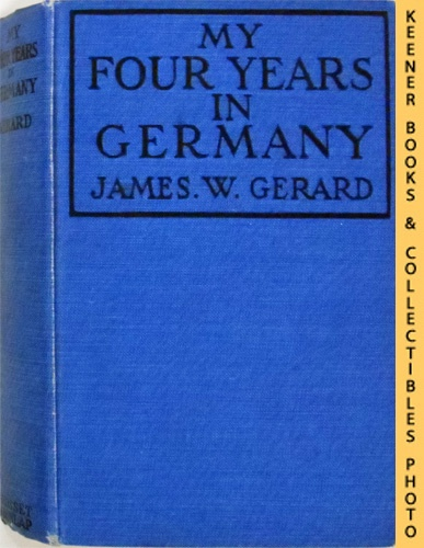 Image for My Four Years In Germany