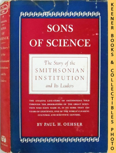 Image for Sons Of Science : The Story Of The Smithsonian Institution And Its Leaders