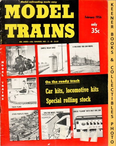 Image for Model Trains Magazine, February 1956 (Vol. 8, No. 12)