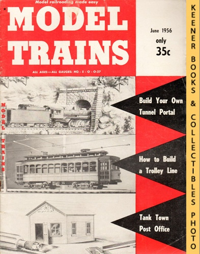 Image for Model Trains Magazine, June 1956 (Vol. 9, No. 4)