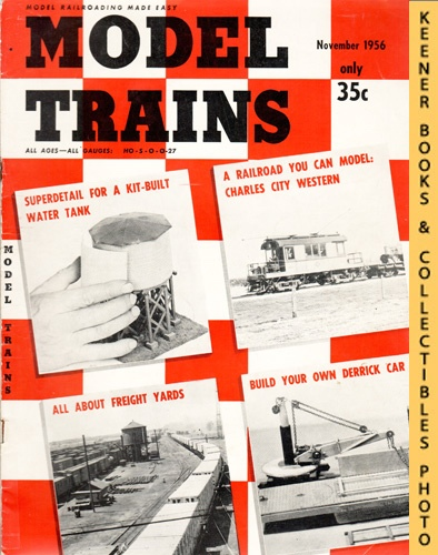 Image for Model Trains Magazine, November 1956 (Vol. 9, No. 9)