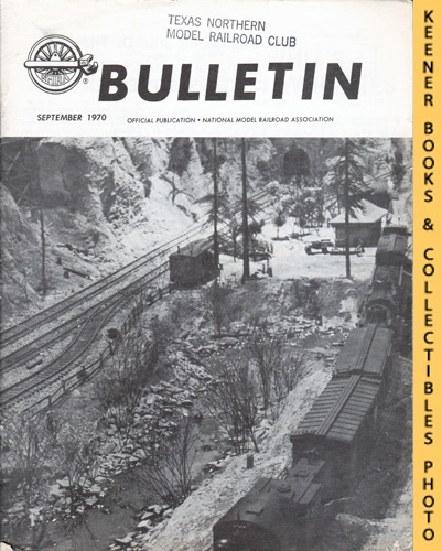 Image for NMRA Bulletin Magazine, September 1970 (Vol. 36 No. 1, Issue 350): Official Publication of the National Model Railroad Association Series