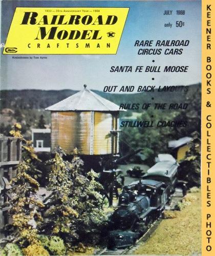 Image for Railroad Model Craftsman Magazine, July 1968 (Vol. 37, No. 1)