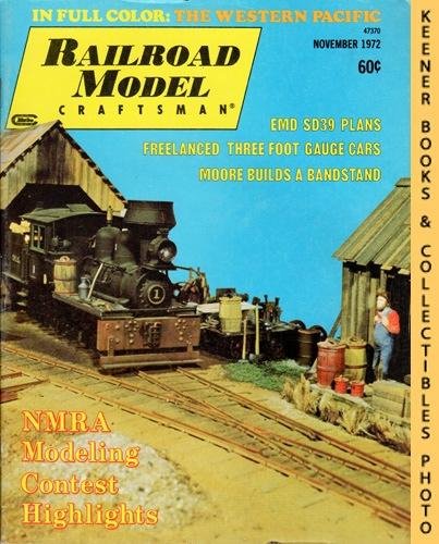 Image for Railroad Model Craftsman Magazine, November 1972 (Vol. 41, No. 6)