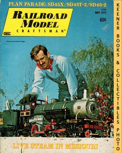Image for Railroad Model Craftsman Magazine, May 1973 (Vol. 41, No. 12)