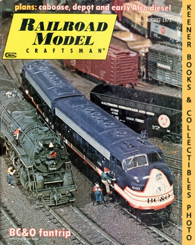 Image for Railroad Model Craftsman Magazine, August 1975 (Vol. 44, No. 3)