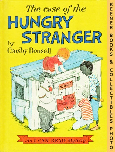 Image for The Case Of The Hungry Stranger: An I CAN READ Mystery Book: An I CAN READ Book Mystery Series