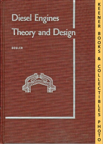 Image for Diesel Engines Theory And Design