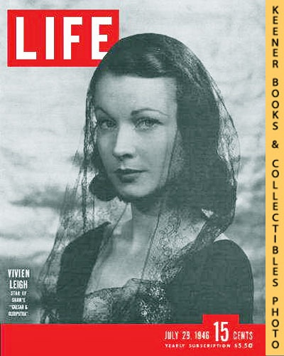Image for Life Magazine, July 29, 1946 - Volume 21, Number 5 - Cover: Vivien Leigh, Star of Shaw's 'Caesar & Cleopatra'