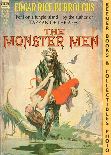 Image for The Monster Men: F-182 : Peril On A Jungle Island - By The Author Of Tarzan Of The Apes