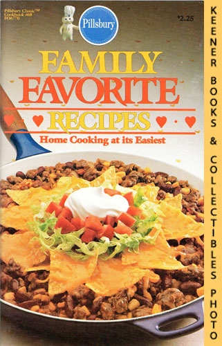 Image for Pillsbury Classic No. 68: Family Favorite Recipes : Home Cooking At Its Easiest: Pillsbury Classic Cookbooks Series