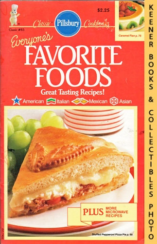 Image for Pillsbury Classic No. 85: Everyone's Favorite Foods: Pillsbury Classic Cookbooks Series