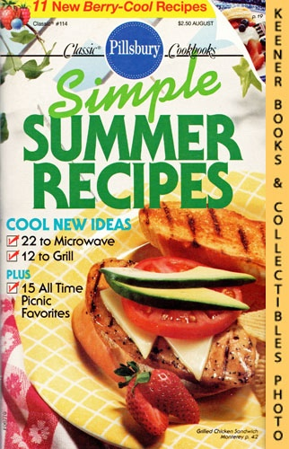 Image for Pillsbury Classic #114: Simple Summer Recipes: Pillsbury Classic Cookbooks Series