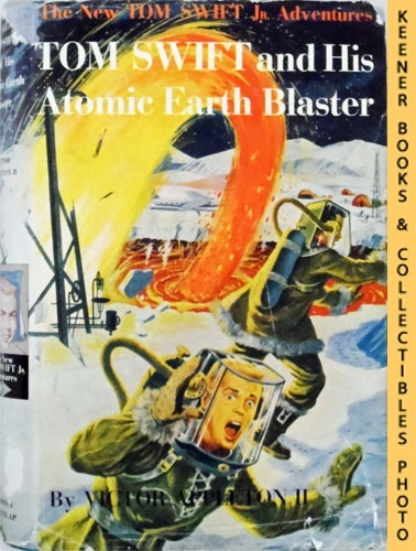 Image for Tom Swift And His Atomic Earth Blaster : The New Tom Swift Jr. Adventures #5: Blue Tweed Boards - The New Tom Swift Jr. Adventures Series