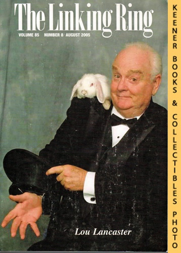 Image for The Linking Ring Magic Magazine, Volume 85, Number 8, August 2005 : Cover - Lou Lancaster