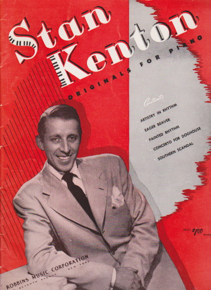 Image for Stan Kenton, Originals for Piano :  Vintage Jazz Piano Songbook