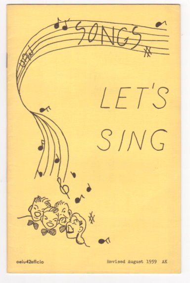 Image for Let's Sing UAW Songs : United Auto Workers