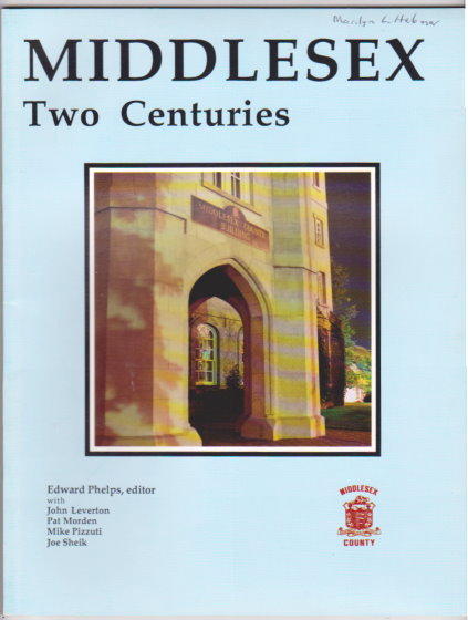 Image for Middlesex :  Two Centuries