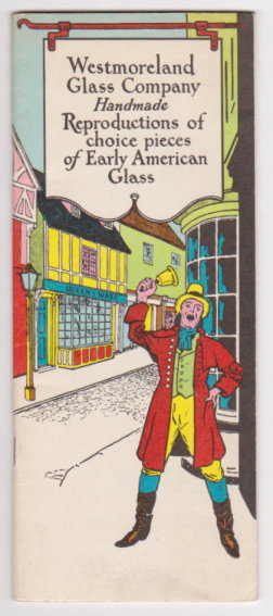 Image for Westmoreland Glass Company :  Handmade Reproductions of Choice Pieces of Early America Glass, 1965