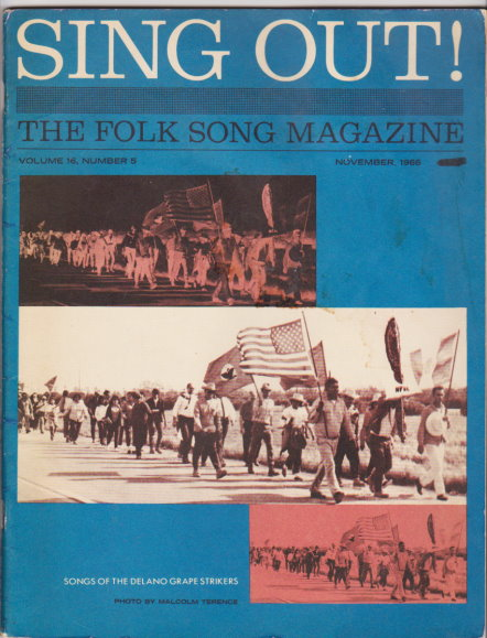 Image for Sing out ! The Folk Song Magazine :  Volume 16, Number 5, October-November 1966