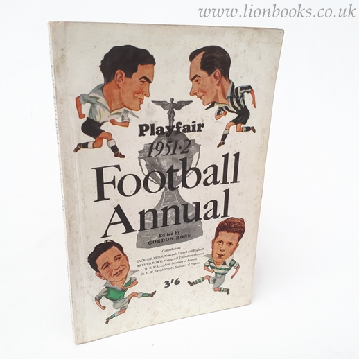 Image for Playfair Football Annual 1951-52.