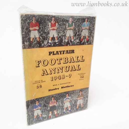 Image for Playfair Football Annual 1948-9