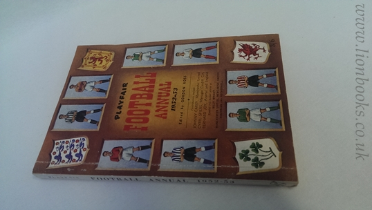 Image for Playfair Football Annual 1952-53