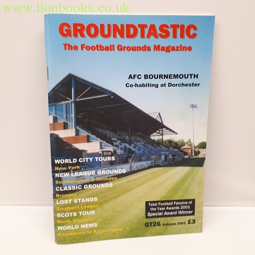Image for Groundtastic Issue 26 Autumn 2001