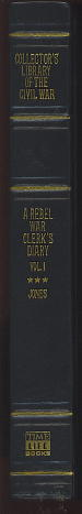 Image for A Rebel War Clerk's Diary, Volume I