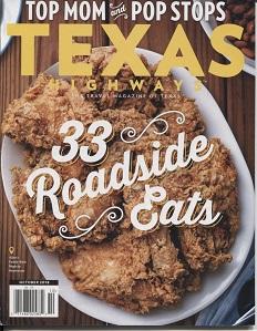 Image for Texas Highways Magazine October 2018 Volume 65 Number 10