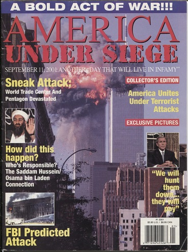 Image for America Under Seige, Issue #1 A Bold Act of War ! ! !