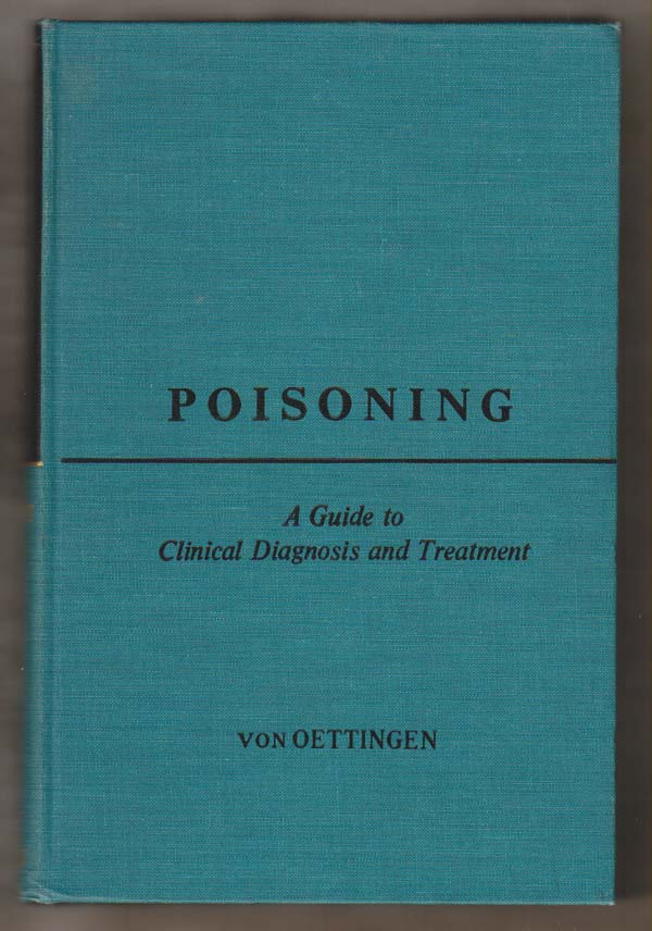 Image for Poisoning: a Guide to Clinical Diagnosis and Treatment
